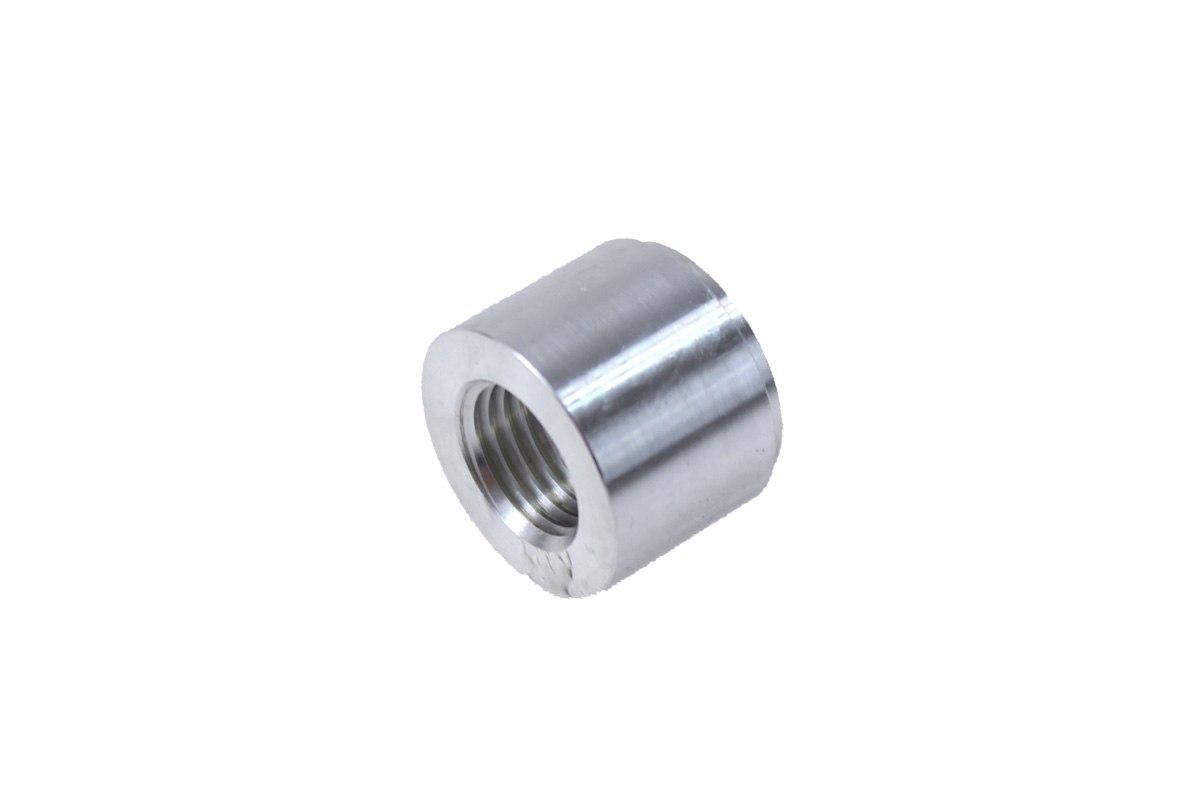 """Nypel żeński 1/4""""-18NPT do wspawania (aluminiowy) - GRUBYGARAGE - Sklep Tuningowy"""